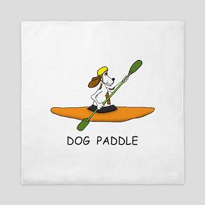 DOG PADDLE Queen Duvet