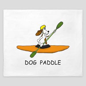 DOG PADDLE King Duvet