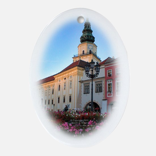 Olomouc, Czech Republic Oval Ornament