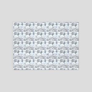 white pills drugs photo 5'x7'Area Rug