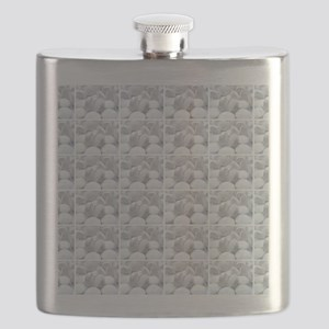 white pills drugs photo Flask