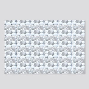 white pills drugs photo Postcards (Package of 8)