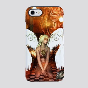 The beautiful steampunk angel iPhone 7 Tough Case