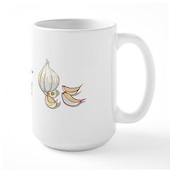 I Love Garlic Large Mug