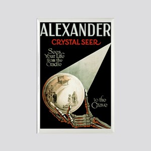 ALEXANDER CRYSTAL BALL fridge magnet