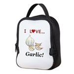 I Love Garlic Neoprene Lunch Bag