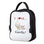 I Love Garlic Neoprene Lunch Bag
