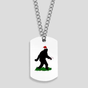 Christmas Squatchin Dog Tags