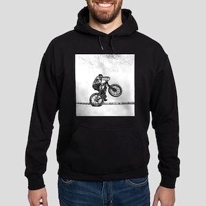 Fatbike wheelie Hoodie (dark)