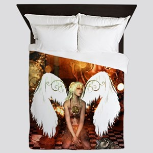 The beautiful steampunk angel Queen Duvet