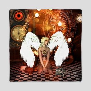 The beautiful steampunk angel Queen Duvet
