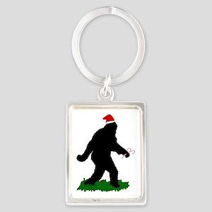 Christmas Squatchin Keychains