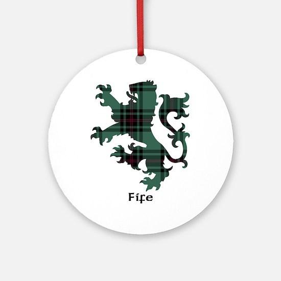 Lion - Fife dist. Ornament (Round)
