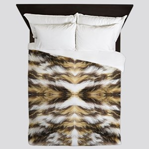 leopard fur ocelot cheetah Queen Duvet