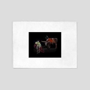 ole matador- The Bullfighter 5'x7'Area Rug