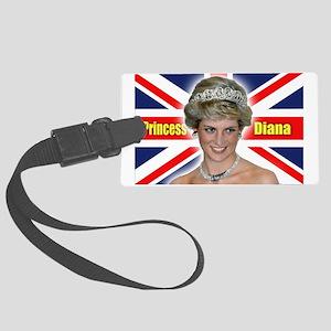HRH Princess Diana Super! Large Luggage Tag