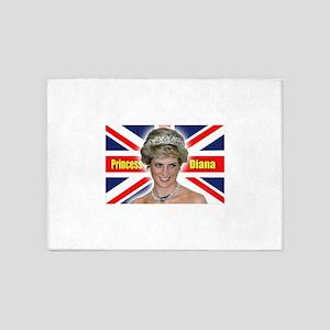 HRH Princess Diana Super! 5'x7'Area Rug