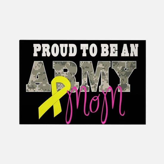 Proud to Be Army Mom Magnets