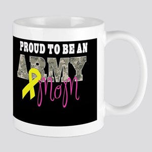 Proud to Be Army Mom Mug