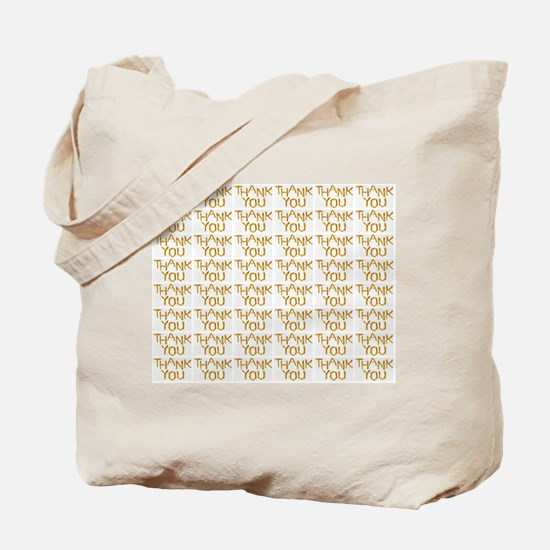 french fries thank you collage Tote Bag