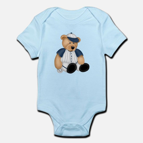 BASEBALL BEAR Infant Bodysuit