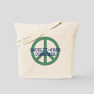 Cruelty Free Consumer 'em Tote Bag