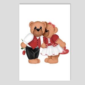 BEARS IN LOVE Postcards (Package of 8)