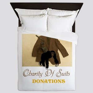 Charity Of Suits. Donations. TGWS Queen Duvet