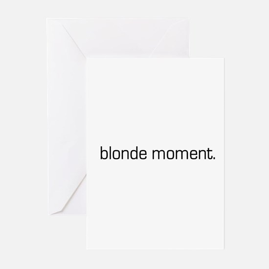 Blonde Moment Greeting Cards (Pk of 10)