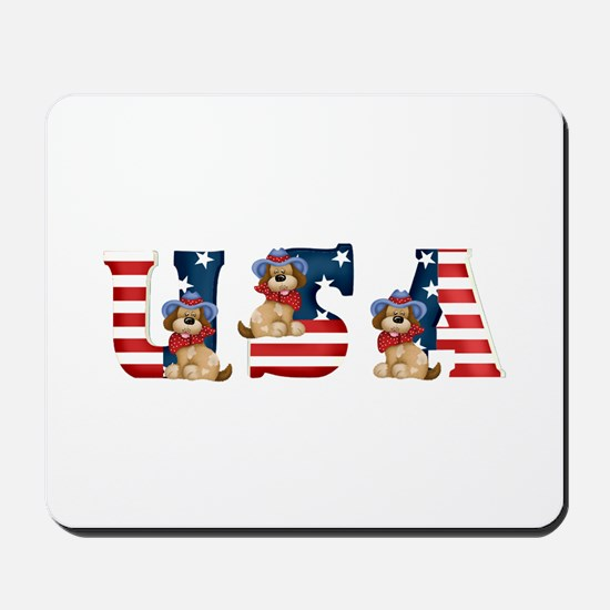 USA DOGS Mousepad