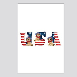 USA DOGS Postcards (Package of 8)