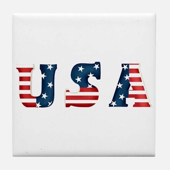 USA Tile Coaster
