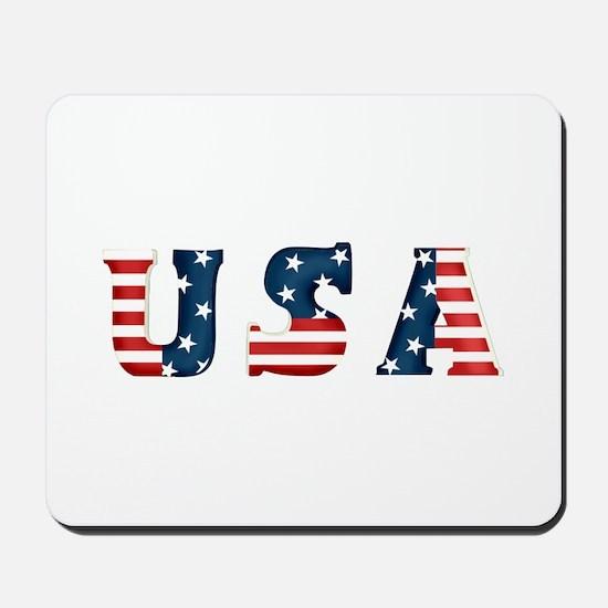 USA Mousepad