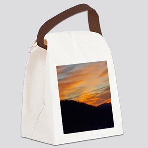 fire on the mountain badass Canvas Lunch Bag