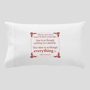 Einstein on Miracles Pillow Case