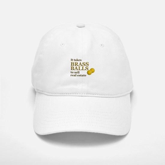 Brass Balls Baseball Baseball Cap
