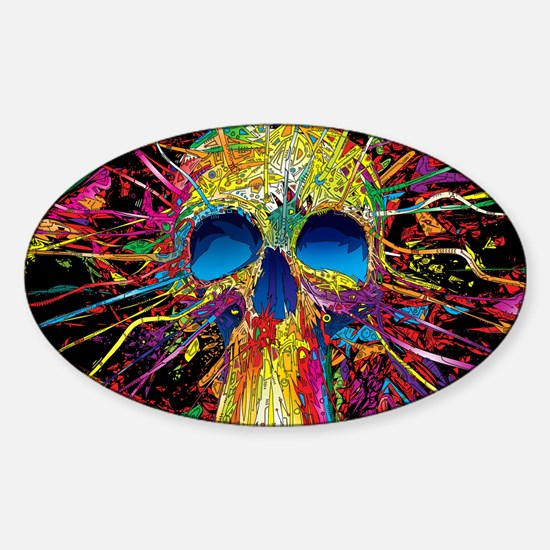 Sugar Skull 046 Decal