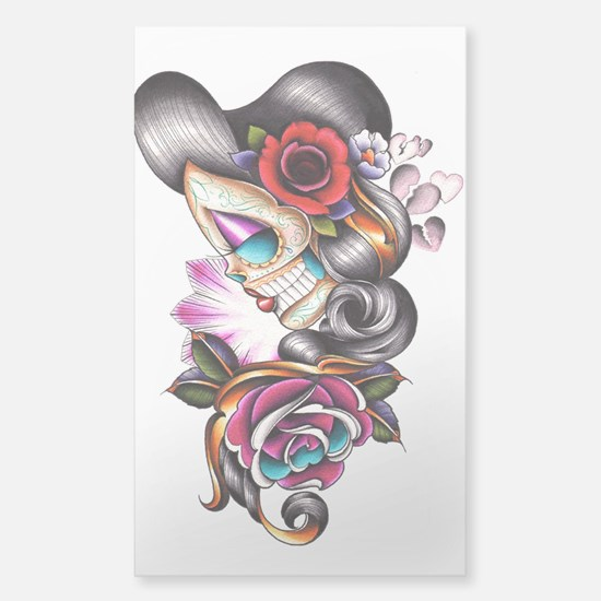 Sugar Skull 075 Decal