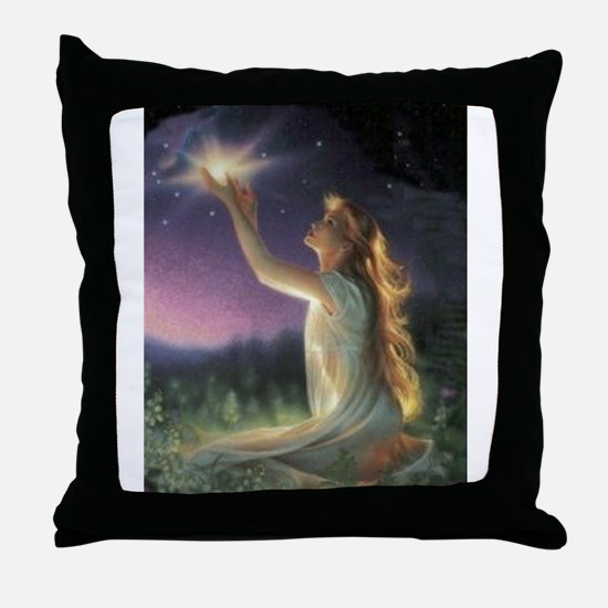 Wishes Amongst The Stars Throw Pillow