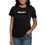 "Women's Black ""Shimmy"" T-Shirt"