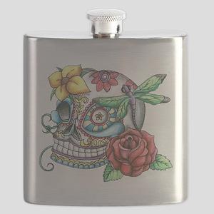 Sugar Skull 069 Flask