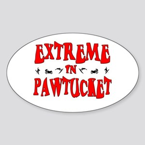 Extreme Pawtucket Oval Sticker