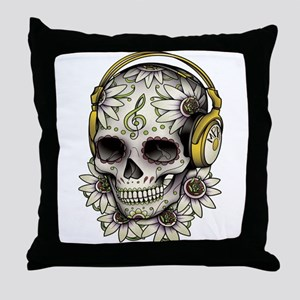 Sugar Skull 008 Throw Pillow