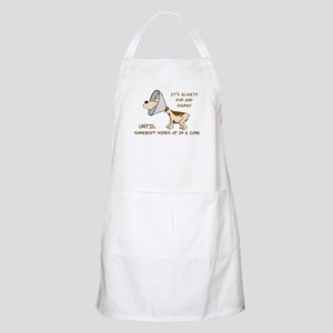 dog cone larry font 2 Apron