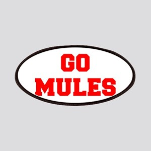 MULES-Fre red Patch