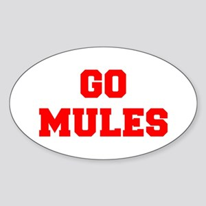 MULES-Fre red Sticker