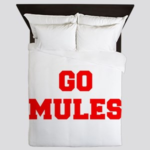 MULES-Fre red Queen Duvet