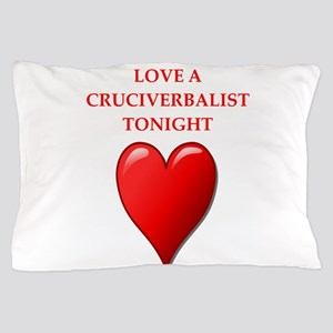 cruciverbalist Pillow Case