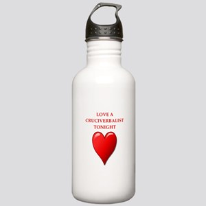 cruciverbalist Water Bottle