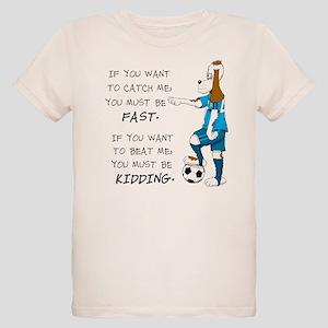 SoccerDogKIdding LarryCaps T-Shirt